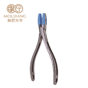 Optical Eyeglasses Holding Plier with Small Plastic Jaw