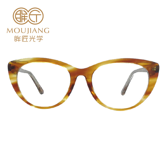 Wholesale Acetate Optical Acetate Glasses Frames Eyewear Gold