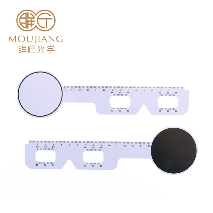Optical Plastic Pupilometer Pd Ruler