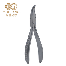 Hand Tools Glasses Optic Nose Pad Plier Mini Bent Nose Pliers